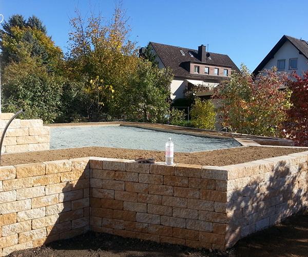 Gartengestaltung und Natursteinarbeiten