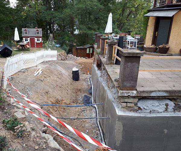 Trockenlegung von feuchten Kellern in Kronberg